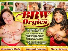 BBW Orgies! The sluttiest big beatiful babes getting fucked on video!