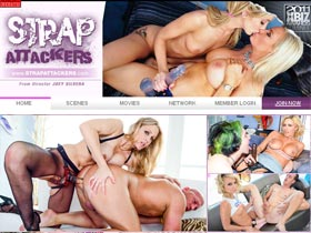Strap Attackers - Female Domination, Strap-On, Lesbians with Toys!