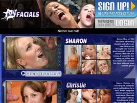 Facial Cumshot Porn - Cum Shot Facials Porn from Just Facials!