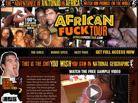 African Fuck Tour - Amateur Homemade Fuck Videos of One White Man's African Adventures!