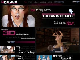 Welcome to Pink Visual Games! 3D Sex Simulator Games! Explore a stunning unique 3D world filled with incredible realistic interactive erotic experiences. Active community. Social network. Get started now with your free download