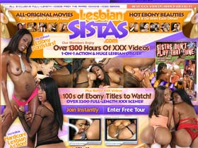 Lesbian Sistas - All black lesbian in hard porn