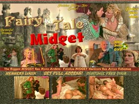 Fairy-Tale Midget - Midget Hardcore Movies, Pretty Babes and Women, Fetishes midget porn stars in hardcore sex action, oral, cumshot and anal sex!