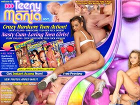 Teeny Mania - Crazy Hardcore Teen Action!