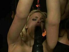 Mistress punishing sexy slut