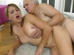 Steamy hot kitchen fucking
