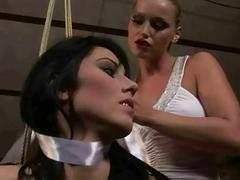 Mistress Kathia Nobili punishing hot dark hair