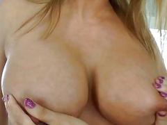 Hot TS group-bonked a hot blonde chick pussy