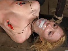 Brutal thrashing of girls servant