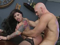 Brazzers - Darling Danika loves raw office