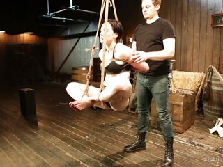 fundamental safety punishment for anyone bottoming in a dynamic rope suspension
