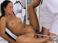 Hedvika Accepts Her Pussy Licked And Fucked By The Dirty Doctor