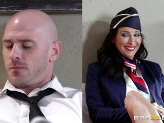 lezley zen takes some time out from put into to fuck