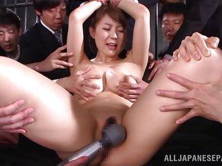 fabulous yuuka entertaining horny cocks