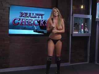 topless hotties give reality checks @ season 15 ep. 719