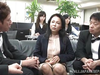japanese prostitute gets horny in public