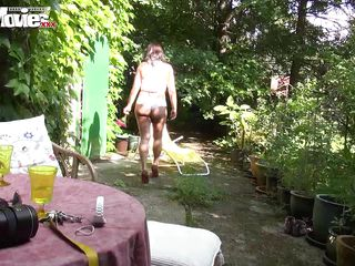 fun movies seasoned cumming in the garden