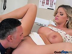 Fairy-haired Pliant Jessa Rhodes Acquires Her Holes Poked By Doctor
