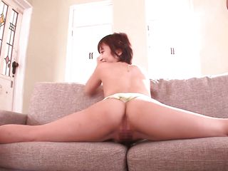 petite japanese doll fucks in acrobatic positions