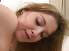 Sunny lane display her oiled and round ass cheek