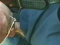 Horny cops enjoy oral sex