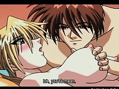 Wonderful hentai fairy bond pussy pounded in close-up