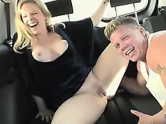 Cameron was trying to rent out her property, but all we were interested in was renting her pussy! Just one quick ride's worth! Watch as we do some serious negotiating in our famous agone seat in a couple of different positions!