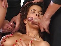 Angelica Bella-HouseWife team-fucked by Ripper