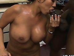 Busty nurse Ava Devine gets that largest 10-Pounder